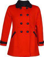 Naughty Ninos Full Sleeve Solid Girls Jacket