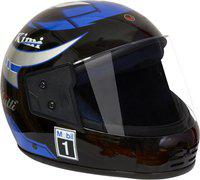 MOTOFLY RECRON MULTI BLUE KIMI Motorbike Helmet(Blue, Black)