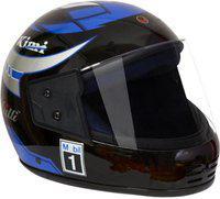 MOTOFLY RECRON MULTI Motorbike Helmet(Blue, Black)