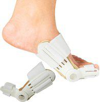 Iris Bunion Toe Straighteners and Bunion Pads Finger Support(White)