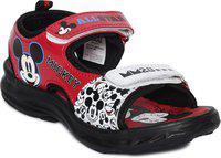 Mickey Boy's Red Sandals-12 Kids UK/India (31 EU) (MMPBSS0293)