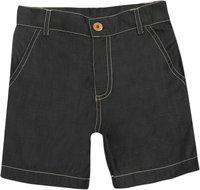 Nino Bambino Baby Boy's Regular fit Cotton Shorts (NBBBSTSS18281-18-24M_Grey_18-24 Months)