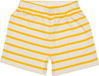 Nino Bambino 100% Pure Organic Cotton Multicolor Shorts for Baby Boy with Pocket (Pack of Three)