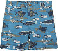 Nino Bambino Short For Boys Casual Printed Cotton Blend(Green, Pack of 1)