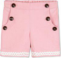 Cherry Crumble California Short For Boys & Girls Casual Solid Polycotton(Pink, Pack of 1)