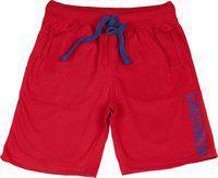 Sera Short For Boys Cotton Linen Blend, Nylon Blend, Cotton Linen Blend(Red, Pack of 1)