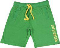 Sera Short For Boys Cotton Linen Blend, Nylon Blend, Cotton Linen Blend(Green, Pack of 1)