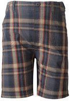 Sera Short For Boys Cotton Linen Blend, Nylon Blend(Grey, Pack of 1)