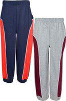 Gkidz Track Pant For Boys(Multicolor, Pack of 2)