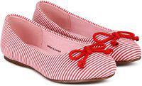 United Colors of Benetton Girls Slip on Ballerinas(Pink)