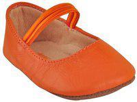 Beanz Girls Strap Casual Boots(Orange)