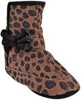 Beanz Agnes Black Tiger Print Shoes for Girls