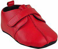 Beanz Boys Velcro Casual Boots(Red)