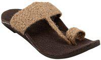 ethnic Men Khaki Sandals