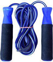 FACTO POWER Foam Grip Ball Bearing Skipping Rope(Blue, Length: 254 cm)
