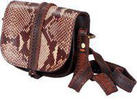 Romari Brown Sling Bag