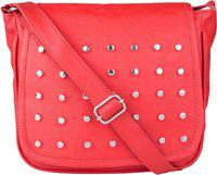SARA Red Sling Bag