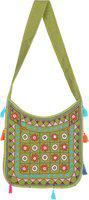 Rajrang Green Sling Bag