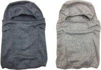 Gajraj Men & Women Winter Woolen Gloves and Cap Set - Free Size (Charcoal grey)