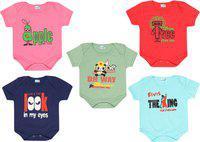 Dongli Baby Boys & Baby Girls MPINK, SAGE, Red, SKBLUE, Navy Blue Bodysuit