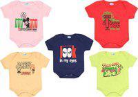 Dongli Baby Boys & Baby Girls Red, Beige, LGREEN, LPINK, Navy Blue Bodysuit