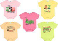 Dongli Baby Boys & Baby Girls MPINK, LYELLOW, Beige, LGREEN, LPINK Bodysuit