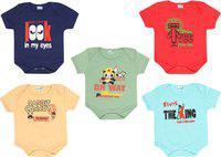 Dongli Baby Boys & Baby Girls SAGE, Red, SKBLUE, Beige, Navy Blue Bodysuit