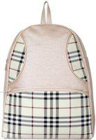 Roshiaaz Stylish Backpack / School Bag for Girls / College Bag / Birthday Gift For Girls / Travel Backpack / Easy To Carry / 12 L Backpack(Beige)