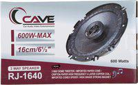 Cave Cave 6 Inch (260 W - 3 Way ) RJ-1640 Coaxial Car Speaker (260 W) RJ-1640 Coaxial Car Speaker(260 W)