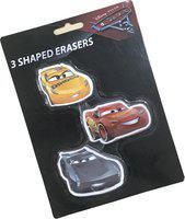 Disney 1069 Shaped Eraser Non-Toxic Eraser(Set of 3, White)