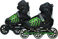Hipkoo Sterling Pace Wheel Size 100mm In-line Skates - Size 6-8 UK(Multicolor)