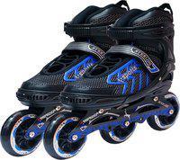 Hipkoo Sterling Express Wheel Size 100mm In-line Skates - Size 6-8 UK(Multicolor)