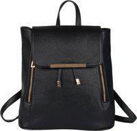 Beau Design Cadance Black 4.5 L Backpack(Black)
