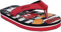 Disney Boys Slip On Slipper Flip Flop(Red)