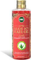 IMC Aloe ICY Hair Oil ( Enriched with Bhringraj, Brahmi, Aloe Vera, Amla, Neem, Gudhal pushp, Nagarmotha, Menthol and Kapoor. ) Hair Oil(200 ml)