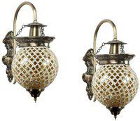 GORGIOUS Wallchiere Wall Lamp(Pack of 2)