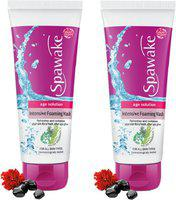 Spawake Age Solution Intensive Foaming Face Wash 50g Each (Pack of 2) Face Wash(100 g)