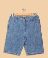 Tommy Hilfiger Short For Boys Casual Solid Denim(Blue, Pack of 1)