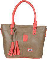 Hena Women Brown Shoulder Bag