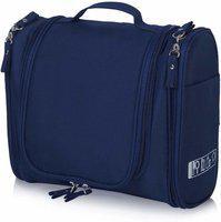 Everbuy Toiletry Bag - Navy Blue Travel Toiletry Kit(Blue)