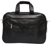 Obani Genuine Leather Laptop Shoulder Bag Black. Dimensions: 16 x 4.50 x 11.50 (L x W x H)