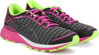 Asics DynaFlyte Running Shoes For Women(Grey, Pink)