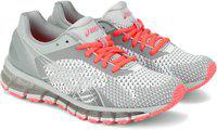 Asics GEL-QUANTUM 360 KNIT Running Shoes For Women(Grey)