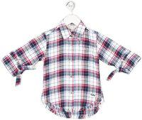 Gini & Jony Baby Girls Casual Cotton Blend Shirt Style Top(Multicolor, Pack of 1)