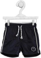 Palm Tree Short For Boys Sports Solid Polycotton(Dark Blue, Pack of 1)