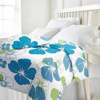 D_Wardrobe Floral Single Dohar(Poly Cotton, Multicolor)