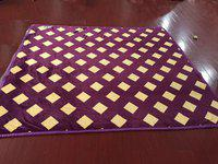 GIFTY Geometric King AC Blanket(Poly Cotton, Purple)