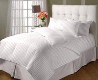 JaipurLinen King Cotton Duvet Cover(White)