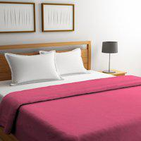 Portico New York King Cotton Duvet Cover(Pink)