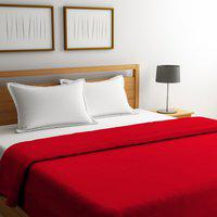 Portico New York King Cotton Duvet Cover(Red)